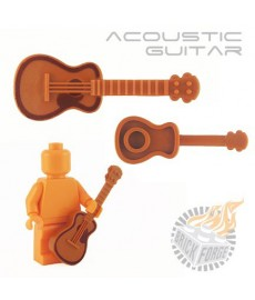 Acoustic Guitar - Dark Orange