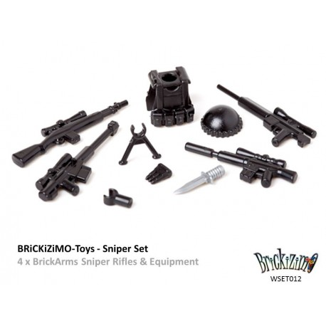 BRiCKiZiMO Sniper set