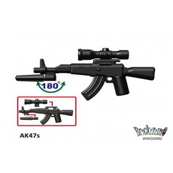 AK47s + Bayonett + Scope