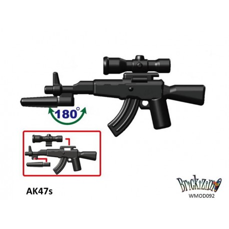 AK47s + Bayonett + Scope