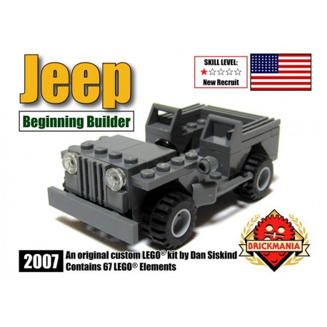 US Army Jeep (Beginning Builder Edition)
