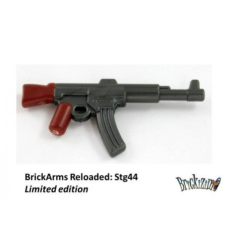 BrickArms Black StG44 Machine Gun Weapons for Brick Minifigures