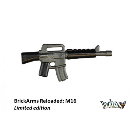 BrickArms Reloaded: Overmolded M16