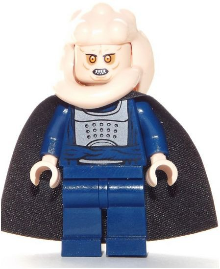Type mini figure lego star wars bib fortuna