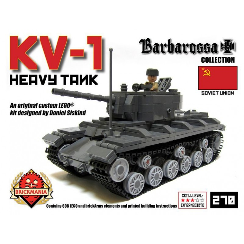 Brickmania KV-1 Premium Building Kit
