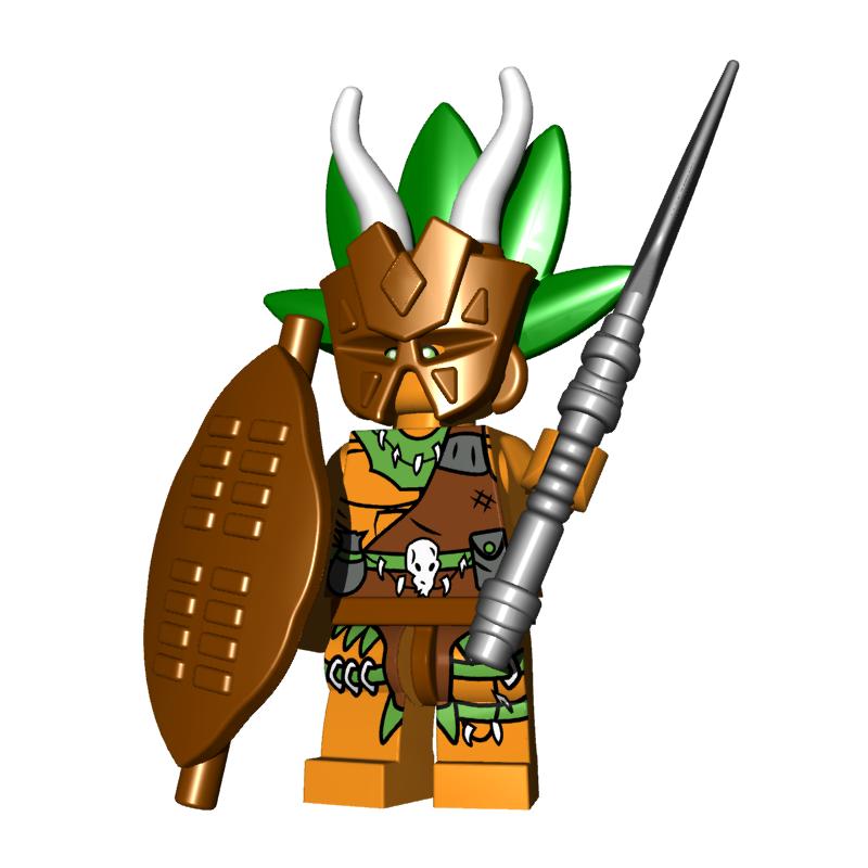 Warrior Pack - Witchdoctor