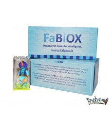 8x 4x4 FaBiOX Minifigure Display Box