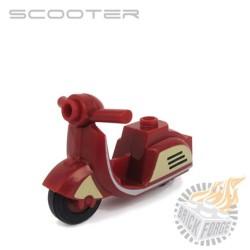 Scooter - Dark Red Retro