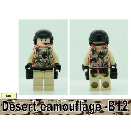 Tactical Vest - Desert Camo