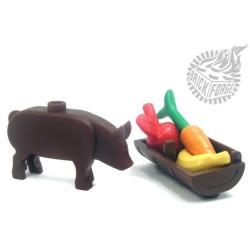 BrickForge Schwein