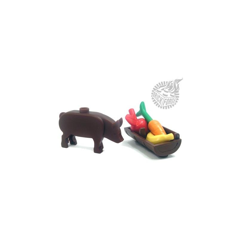 BrickForge Pig