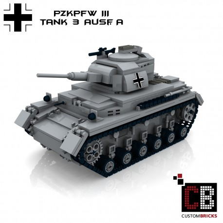 PzKpfw III Panzer - Building instructions