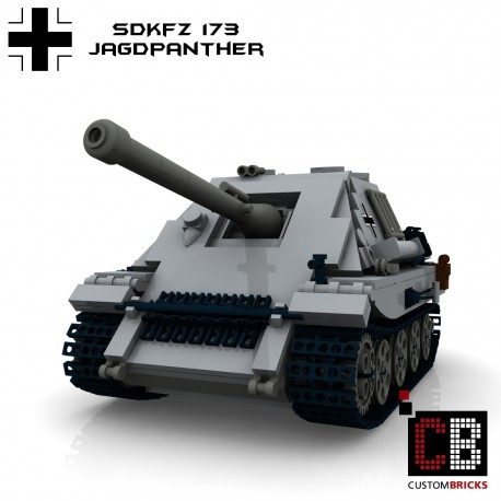 Panzer SdKfz 173 Jagdpanther - Building instructions