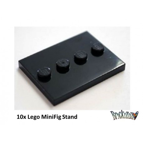 Lego MiniFig Stand - Set of 10