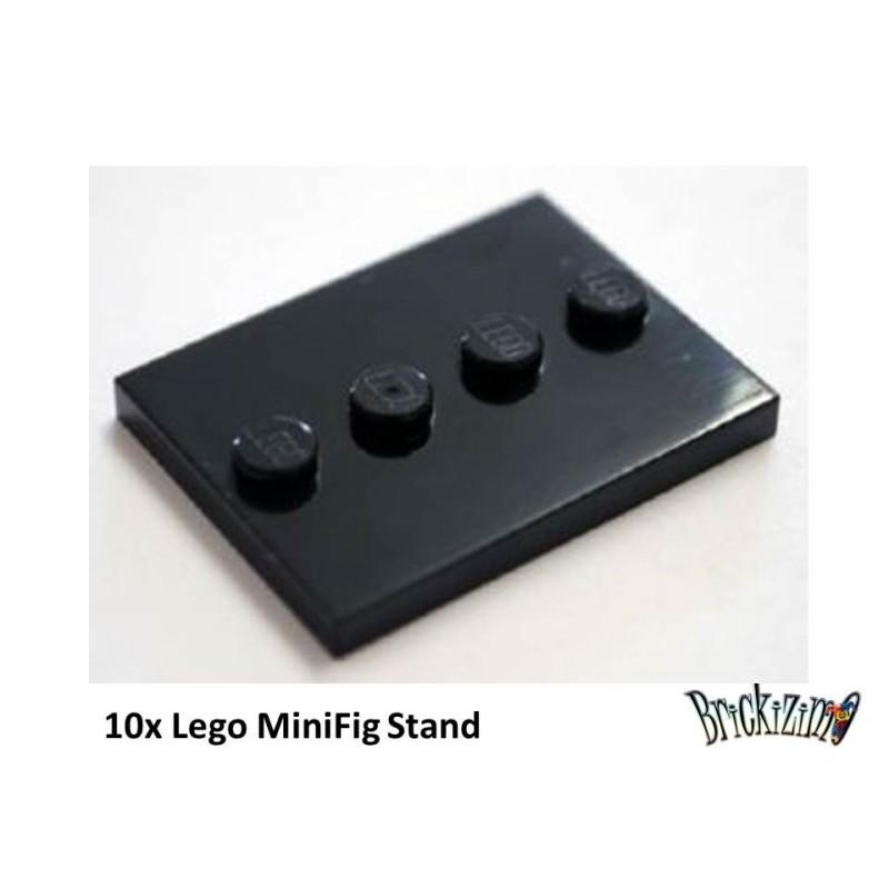 Lego MiniFig Stände - Set of 10