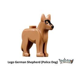 LEGO © - deutscher Schäferhund (Polizei Hund)