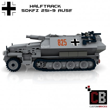 SdKfz 251-9 Ausf.C Schützenpanzerwagen - Building instructions