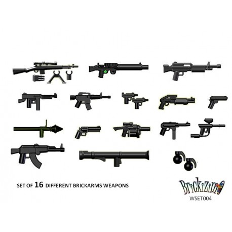 BRiCKiZiMO - Waffen set