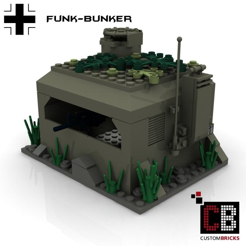 Deutsche Funkbunker - Bauanleitung