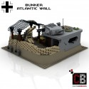 German bunker with Flak 36 & Panzer IV - Building instructions