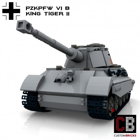 Panzer PzKpfw VI Ausf. B Königstiger - Building instructions