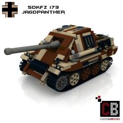Panzer SdKfz 173 Jagdpanther - Camo - Bauanleitung