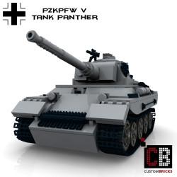 Panzer PzKpfw V Panther - Bauanleitung