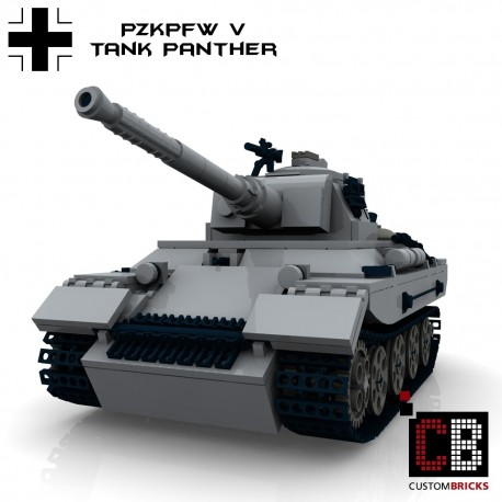 Panzer PzKpfw V Panther - Building instructions