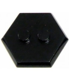 Hex Stand MiniFig Stand 2-Stud