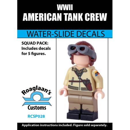 American Tank Crew - Decal