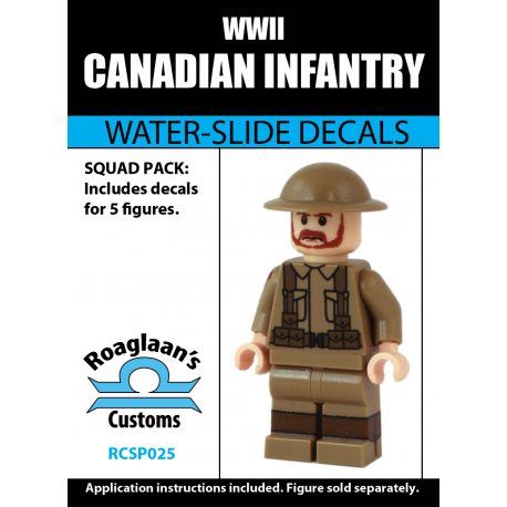 Canadian Infantry - Decal