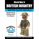 British Infantry - Decal