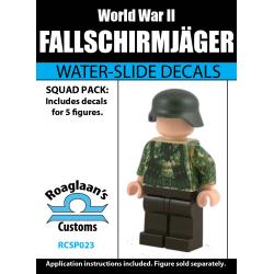 Duitse Fallschirmjäger - Decal