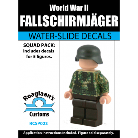 German Fallschirmjäger - Decal