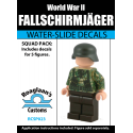 German Fallschirmjäger - Decal