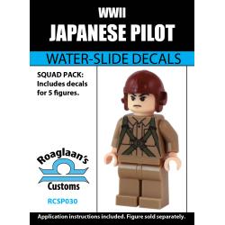 Japanese Pilot - Decal