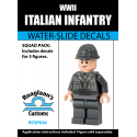 Italian Infantry - Decal