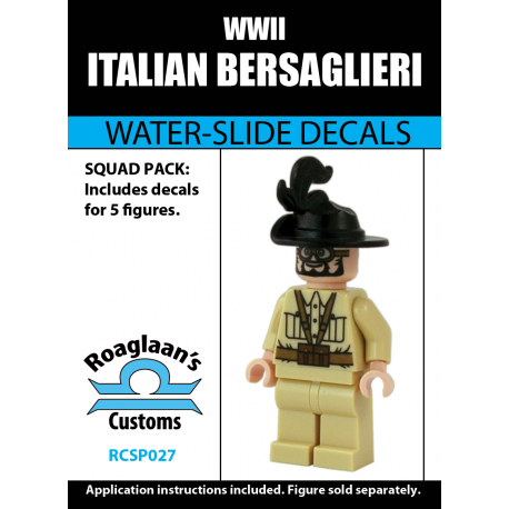 Italian Bersaglieri - Decal