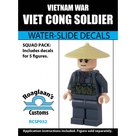 Viet Cong Soldier - Decal