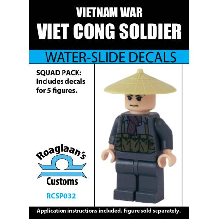 Viet Cong Soldaat - Decal