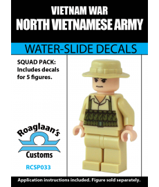 North Vietnamese Soldier - Decal