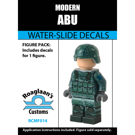 Modern Combat - ABU - Decal