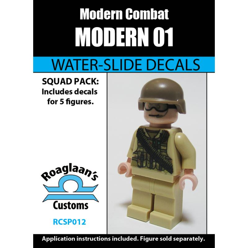 Modern Combat - 01 - Decal