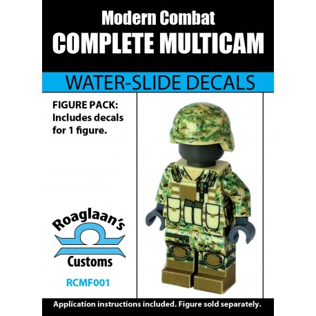Modern Combat - Complete Multicam - Decal