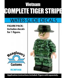 Vietnamese Tiger Stripe - Decal