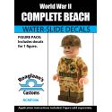 WW2 - USMC Beach Cammo - Decal