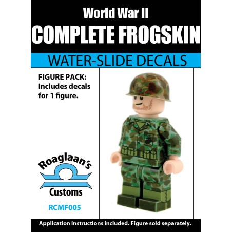 WW2 - USMC Frog Skin - Decal
