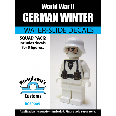 German Winter Cammo - Decal
