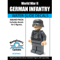 German Infantry - Decal