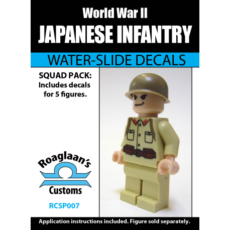 Japanese Infantry - Decal